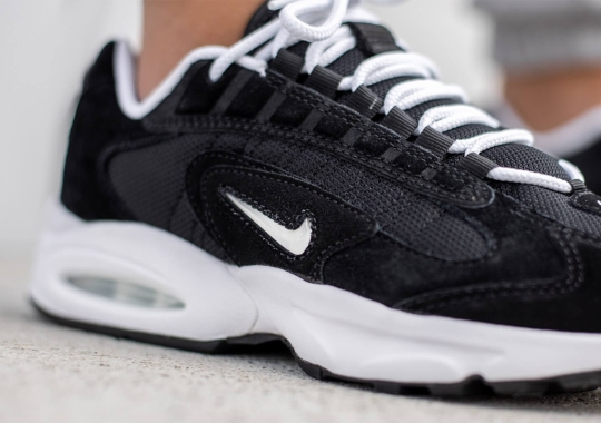 The Nike Air Max Triax 96 LE With Suede Uppers And Jewel Swooshes Returns