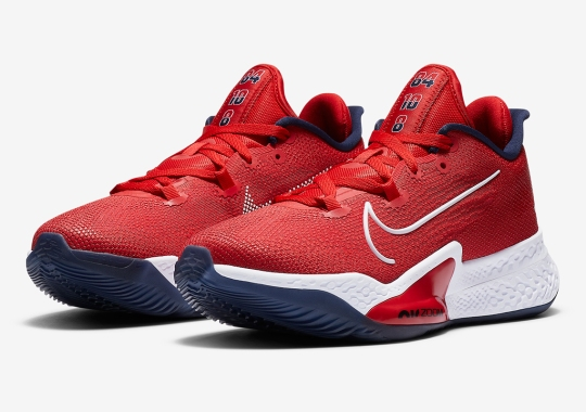 The Nike Air Zoom BB NXT Appears In A USA Olympic Colorway