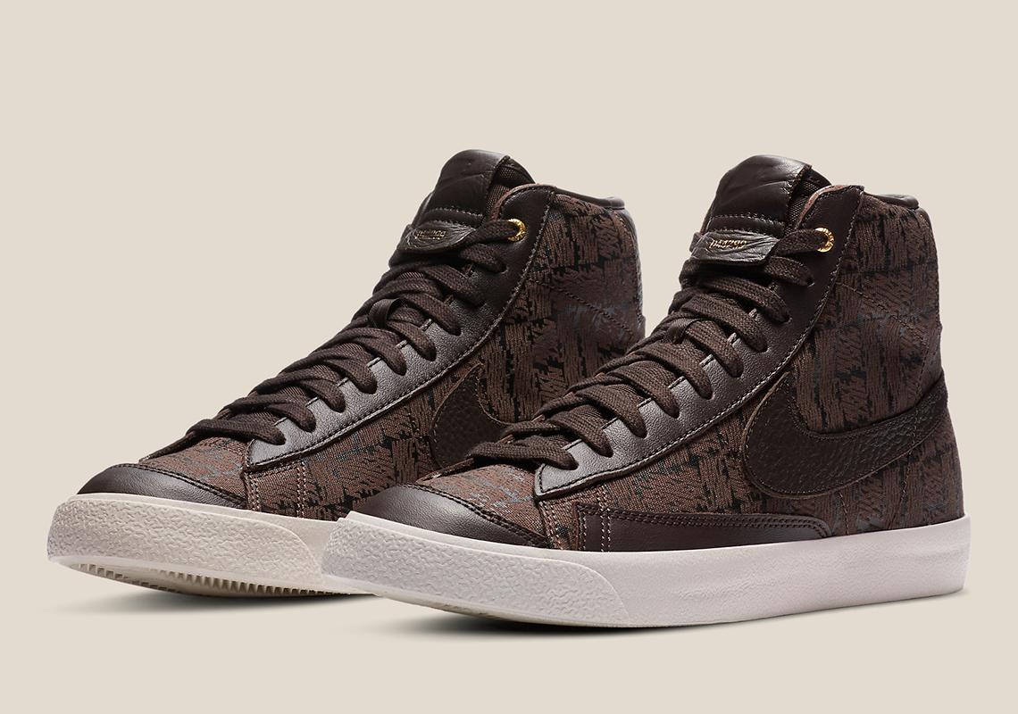 Nike Blazer Mid Velvet Marron DA4299-200 - Crumpe