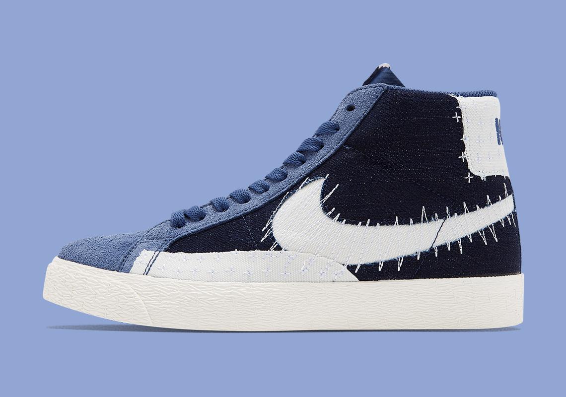 Nike SB Blazer Mid Mystic Navy Sail CT0715-400 | SneakerNews.com