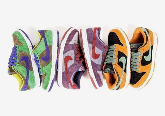 """Nike To Complete The Ugly Duckling Pack Retro With Dunk Low """"Ceramic"""" And """"Veneer"""" Release"""