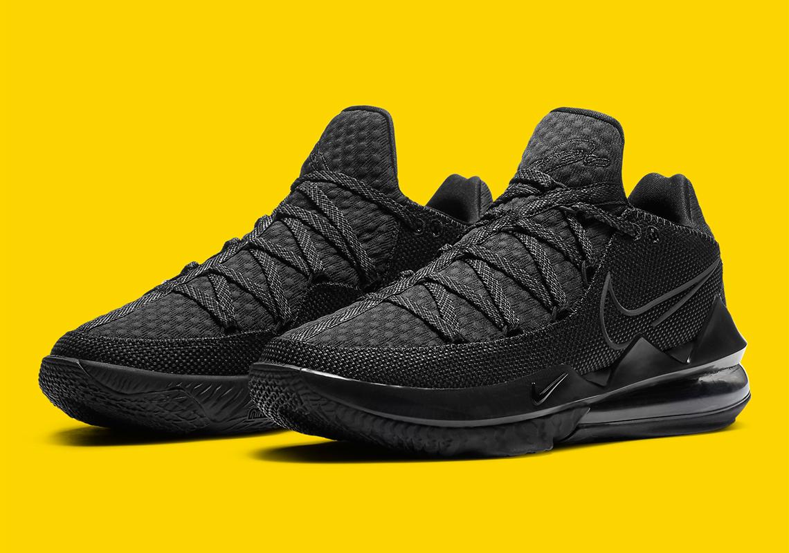 Nike LeBron 17 Low Black CD5007-003