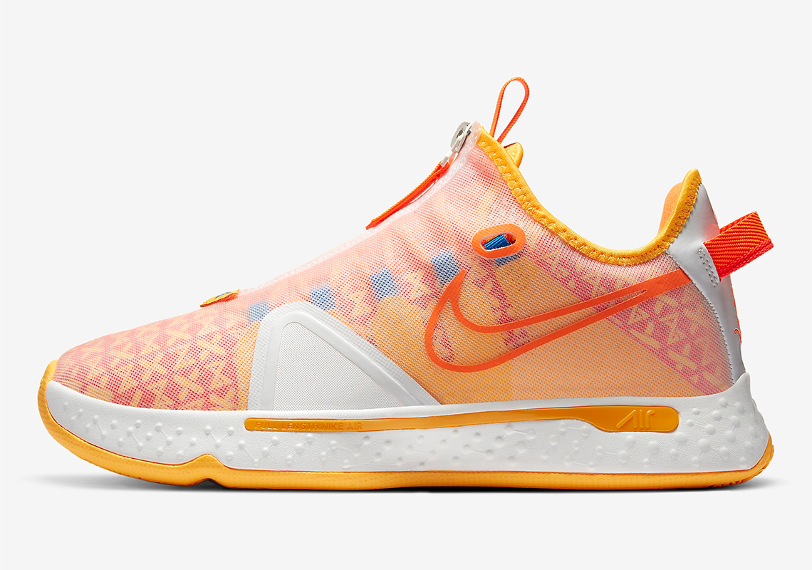 Nike PG 4 Gatorade Orange CD5078-101