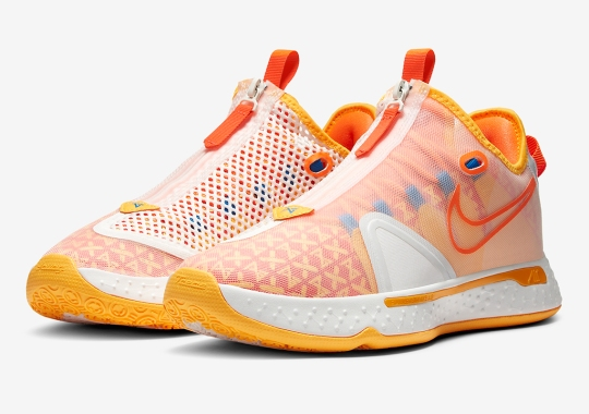 Gatorade And Nike Deliver A PG 4 With Citrus Flavors