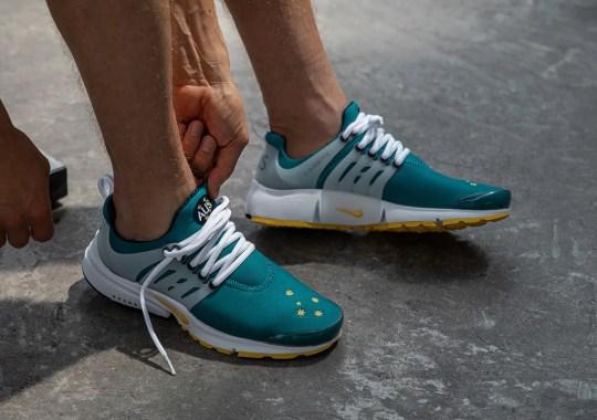 "The Nike Air Presto ""Australia"", Originally Made For 2000 Australian Olympic Team, Is Making A Return"