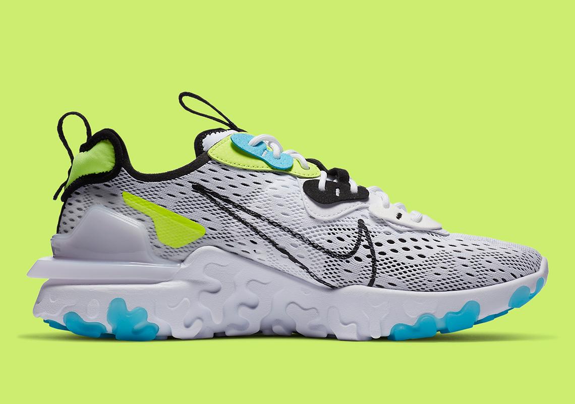 Nike React Vision Worldwide CT2927-100 | SneakerNews.com