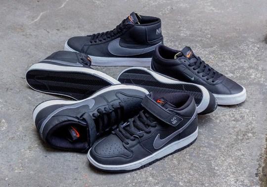 Nike SB Orange Label To Deliver Black Leather Collection