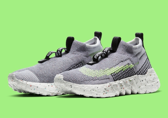 The Nike Space Hippie 02 Grey/Volt Releases On July 16th