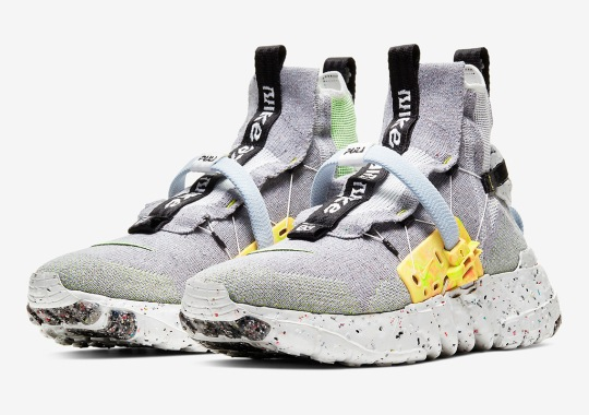 Nike Space Hippie 03 Gets The Grey/Volt Treatment