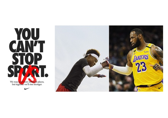 """Nike's """"You Can't Stop Us"""" Film Places Sports Stars Next To Everyday Athletes"""