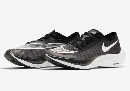 The Nike ZoomX VaporFly NEXT% Arrives In A Sleek Black And White