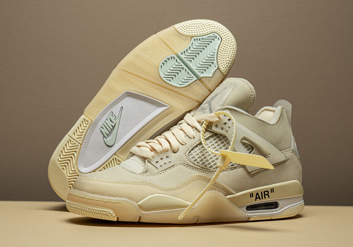 Off White Jordan 4 Photos + Release Info | SneakerNews.com