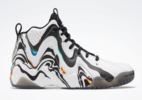 "Reebok Adds Psychedelic Coloring To The Kamikaze II ""Peace Day"""