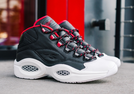 "Allen Iverson And James Harden Honored In The Reebok Question ""OG Meets OG"""