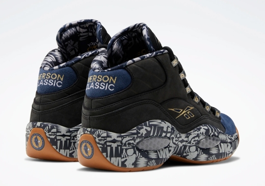 "Georgetown Hoyas Themes Take Over The Reebok Question Mid ""Iverson Classic"""
