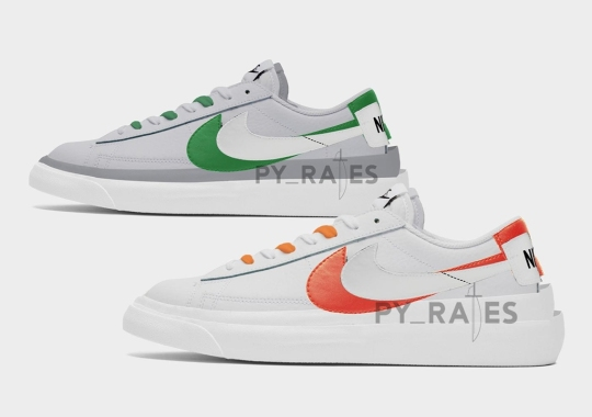 sacai And Nike To Release A Blazer Low In Spring 2021