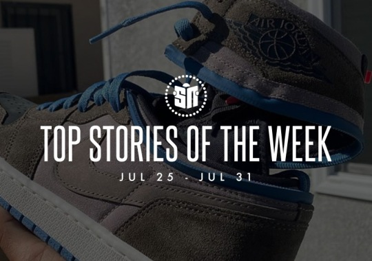 Thirteen Can't Miss Sneaker News Headlines from July 25th to July 31st