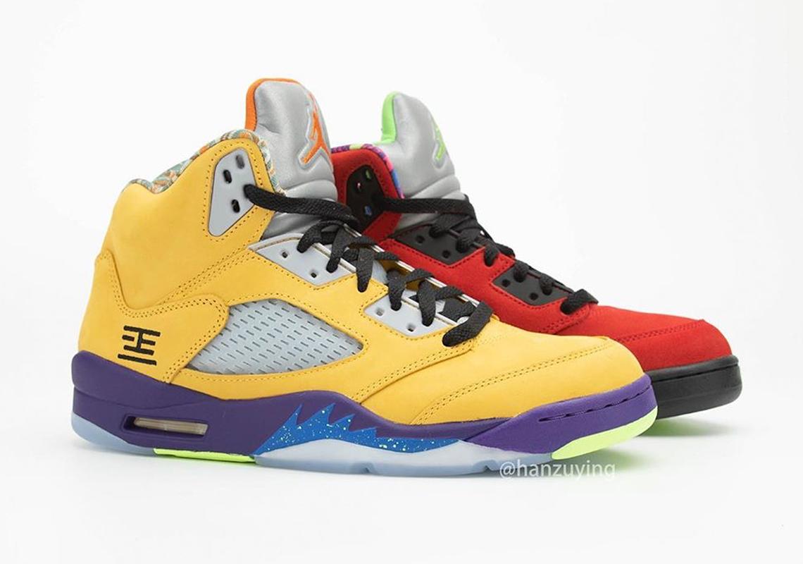 What The Air Jordan 5 - Photos +