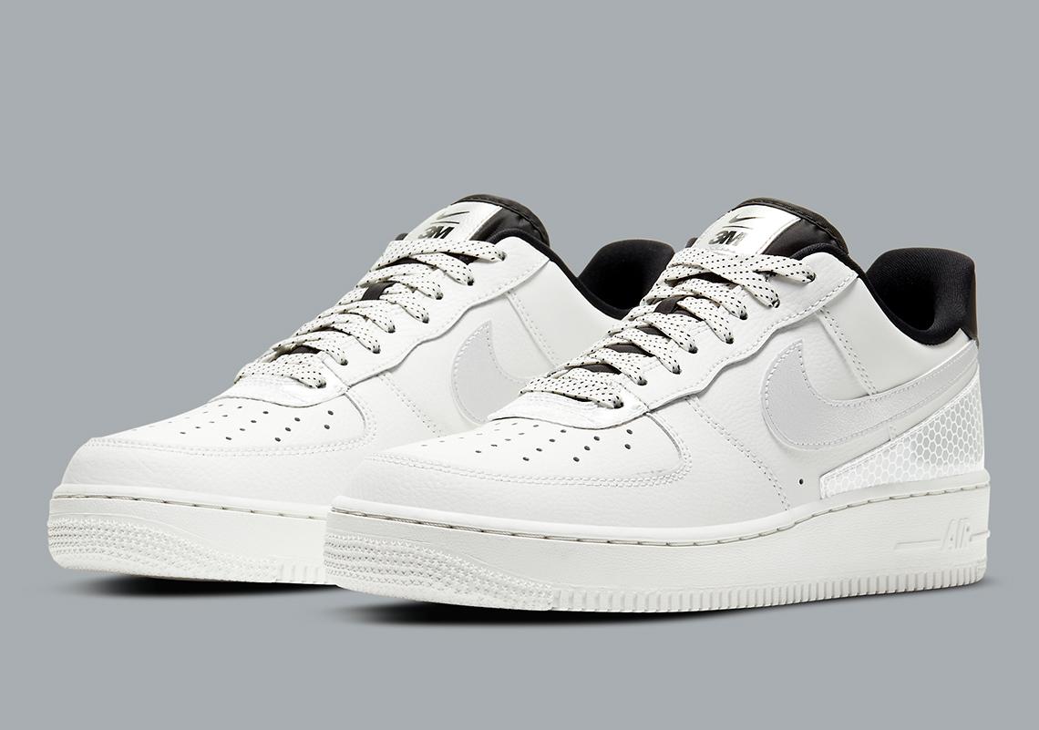 no relacionado Presa sección  3M Nike Air Force 1 CT2299-100 Release Info | SneakerNews.com