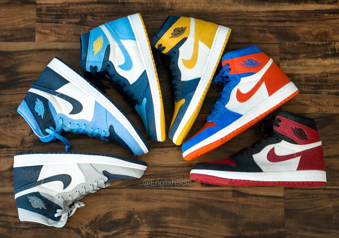 Air Jordan 1 College PE Shoes 2020