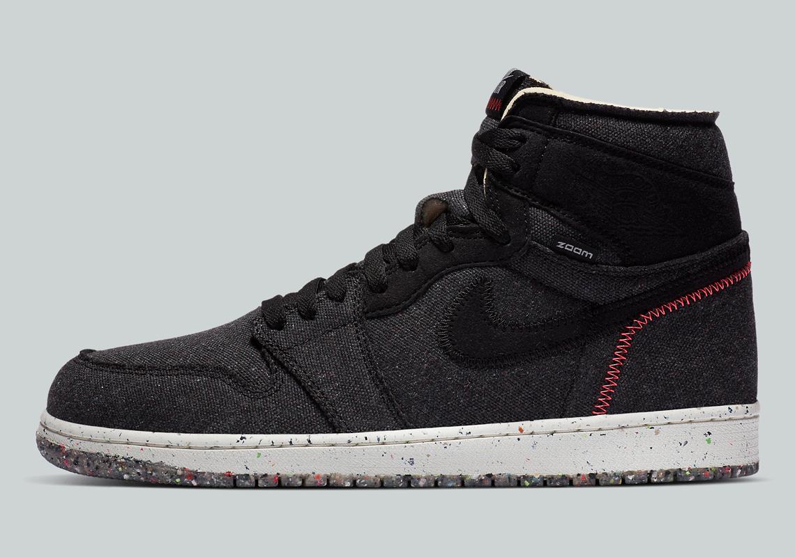 Air Jordan 1 High Zoom Crater CW2414-001 Release | SneakerNews.com