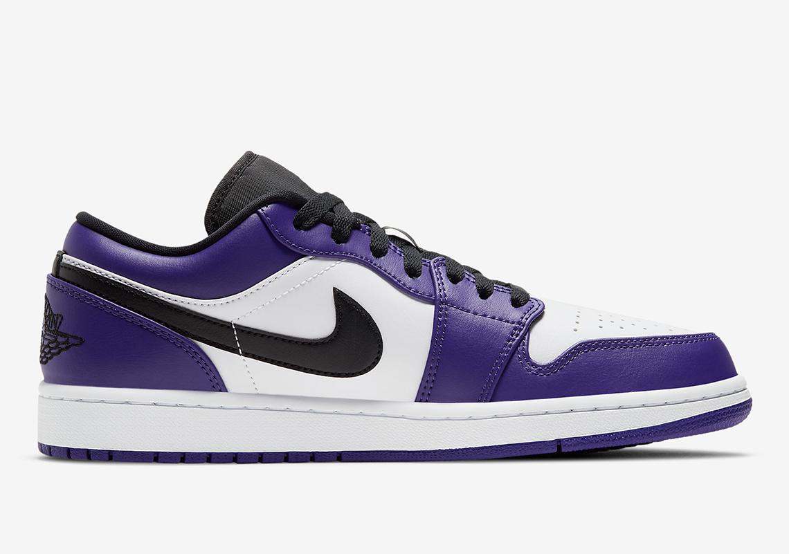 air jordan 1 court purple mujer