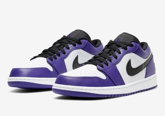 """Air Jordan 1 Low Arriving Soon In """"Court Purple"""""""