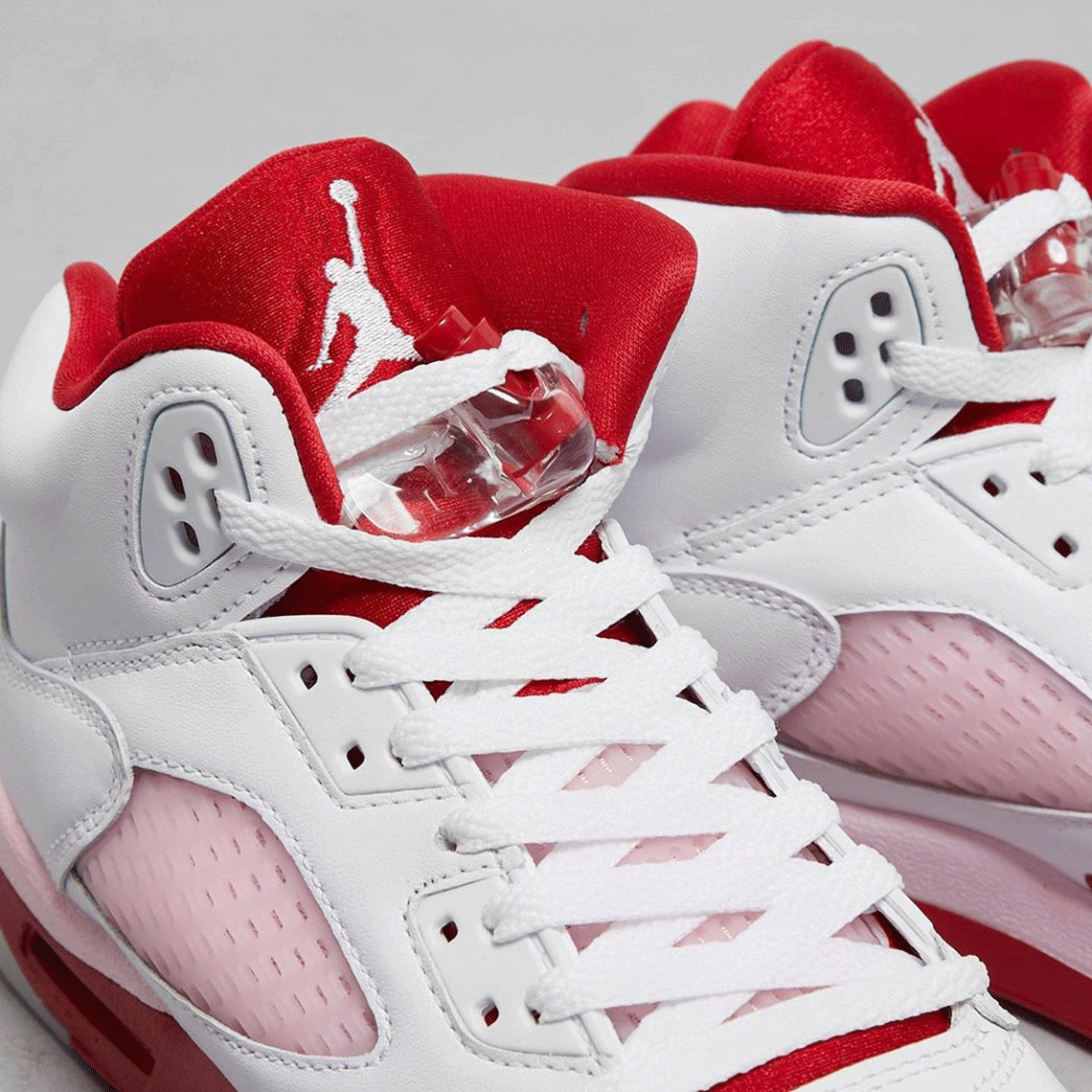 Air Jordan 5 Kids White Pink Foam 440892-106 | SneakerNews.com