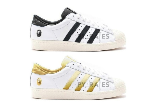 BAPE To Dress The adidas Superstar 80 Two Ways Come January 2021