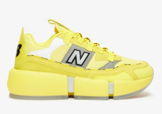 Jaden Smith's New Balance Vision Racer Gets A New Yellow Colorway