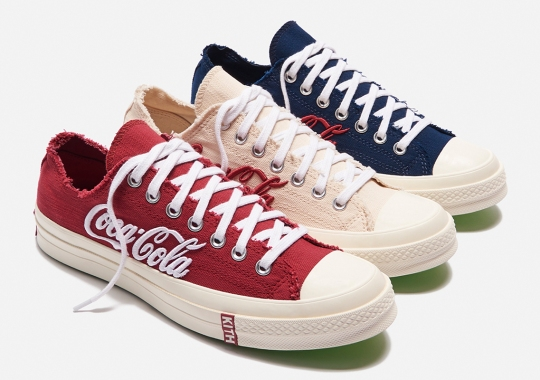 KITH And Coca-Cola To Release Their Trio Of Low-Top Chuck 70s On August 15th