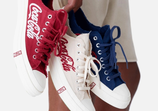 KITH And Coca-Cola Return To Converse For A Chuck 70 Low