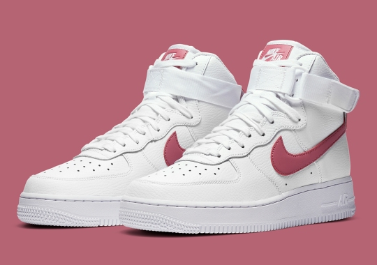 The Nike Air Force 1 Accents Its Swoosh With Desert Berry