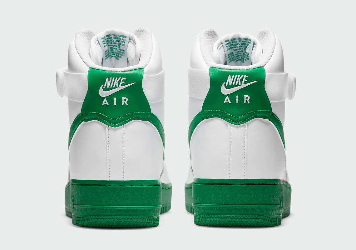 green and white uptowns