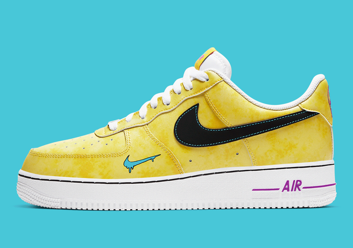 Nike Air Force 1 Yellow Dc7299 700 Dc1416 700 Sneakernews Com