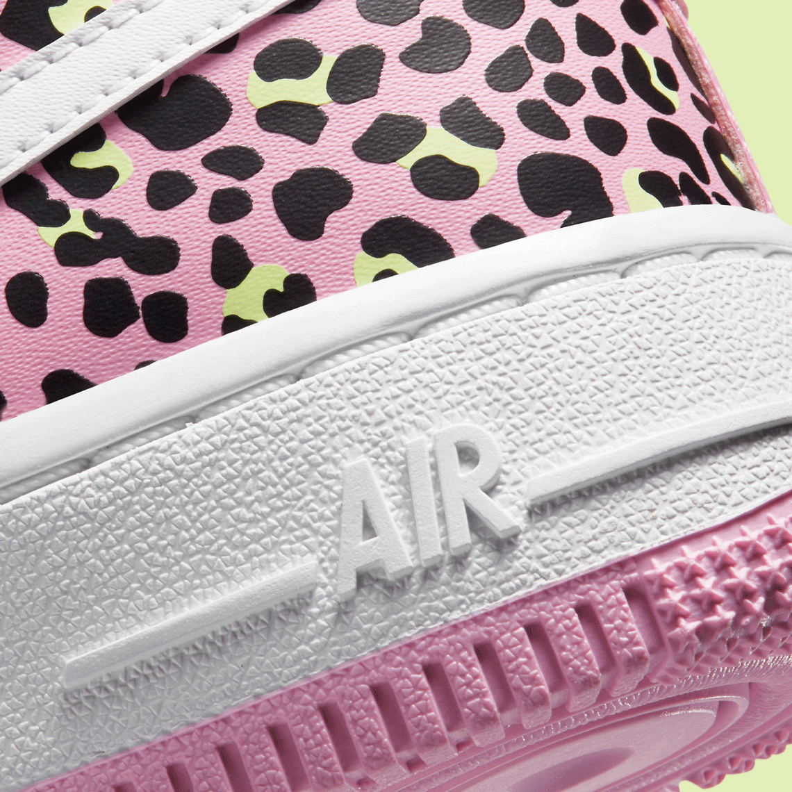 air force 1 donna leopardate rosa