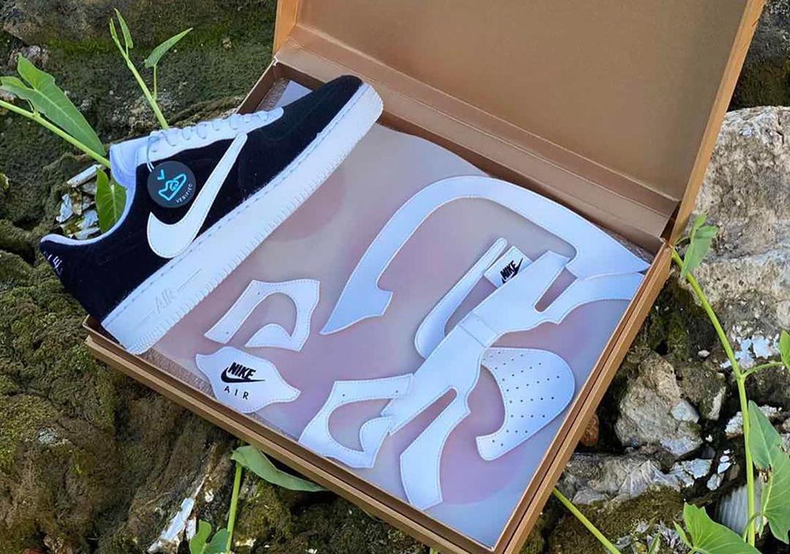reaccionar La cabra Billy Lengua macarrónica  Nike Air Force 1 Velcro Release Info | SneakerNews.com