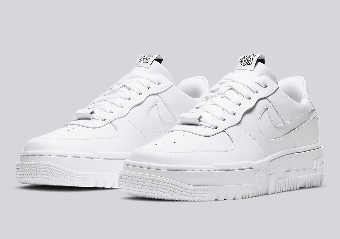 Nike Air Force 1 Pixel Ck6649 100 Release Info Sneakernews Com