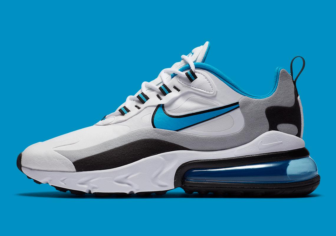 Nike Air Max 270 React Laser Blue
