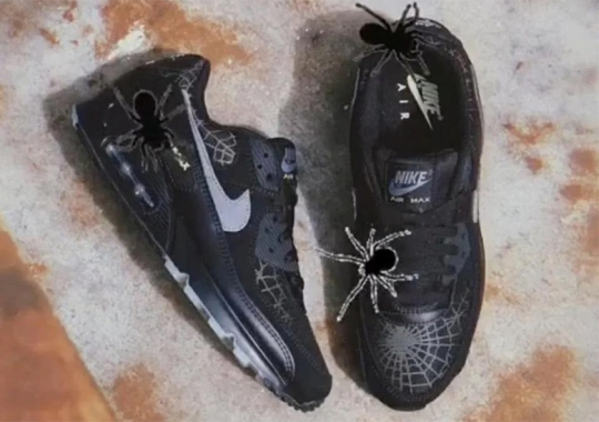 The Nike Air Max 90 Spooks With Web-Covered Halloween Colorway