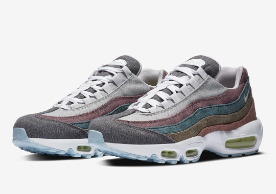 Nike Air Max 95 NRG Features An Array Of Colored Canvas