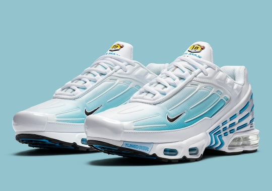 Laser Blue Lands On The Nike Air Max Plus 3