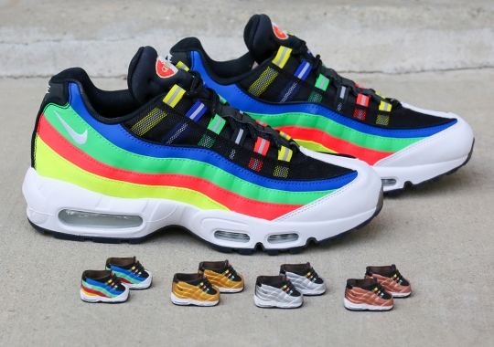 """BAIT To Gift Miniature Air Max 95 Kokie Keychains In Honor Of Nike's """"Hidden Message"""" Pack"""