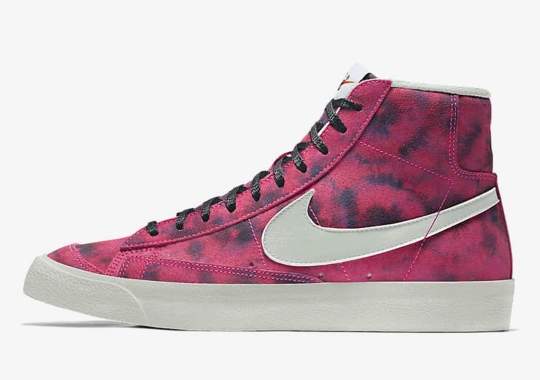 The Nike Blazer Mid '77 By You Now Features Tie Dye Patterns