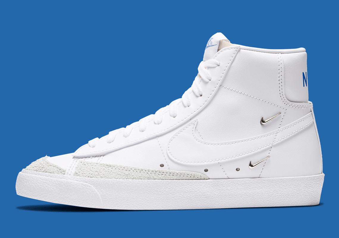 Nike Blazer Mid '77 LX Metallic Swoosh CZ4627-100 | SneakerNews.com
