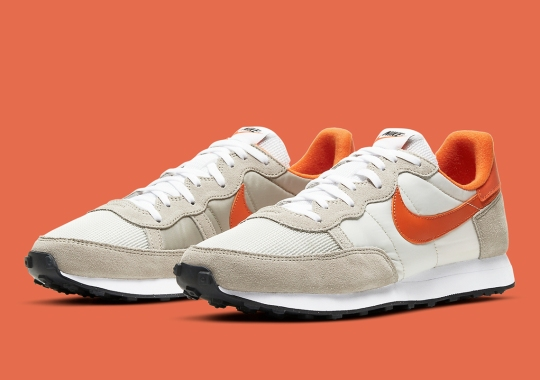 The Nike Challenger OG Appears With Team Orange Accents