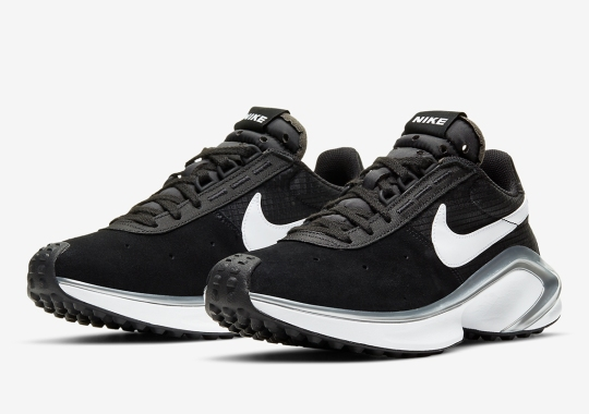 The Nike D/MS/X Waffle Is Arriving In Black And Silver