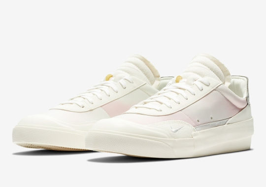 The Nike Drop Type LX Brushes Its Underlayer With Soft Pink