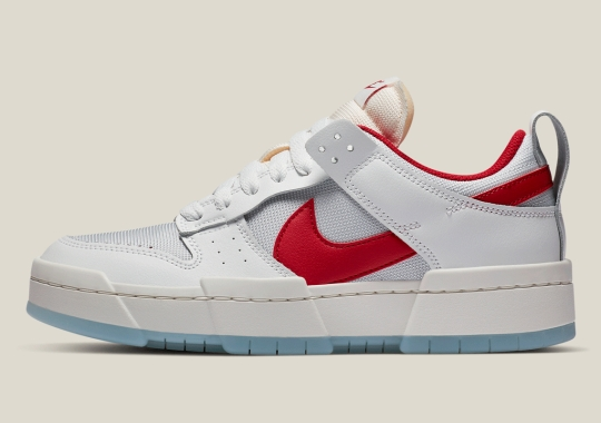 """The Nike Dunk Low Disrupt """"Gym Red"""" Is Arriving On September 4th"""