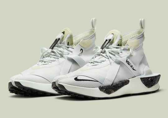 """Official Images Of The Nike ISPA Drifter Split """"Grey Fog"""""""